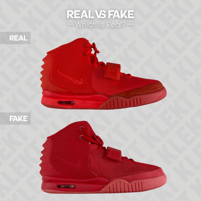 Fake Nike Air Yeezy II 'Red October