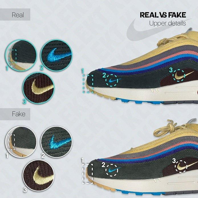 Fake Sean Wotherspoon Nike Air Max 97/1