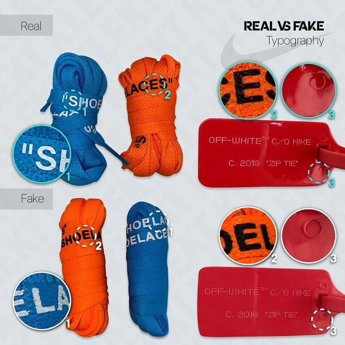 "Fake Off-White™ x Air Jordan 1 ""UNC"