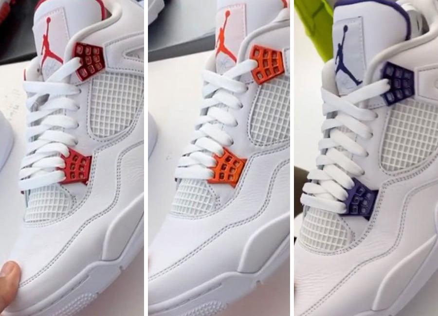 Dj Khaled Unveils Upcoming Air Jordan 4 Metallic Pack Klekt Blog