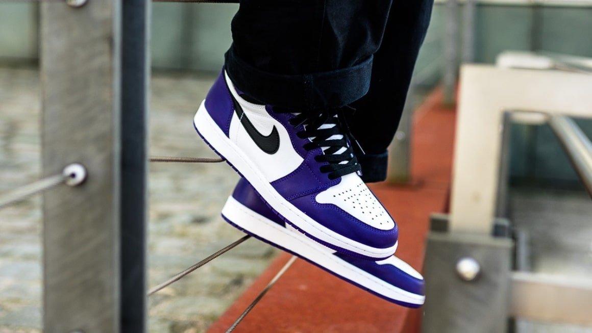 How To Spot A Fake Air Jordan 1 Court Purple Klekt Blog
