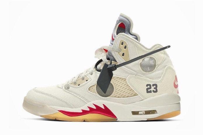 New Off-White™ x Air Jordan 5s
