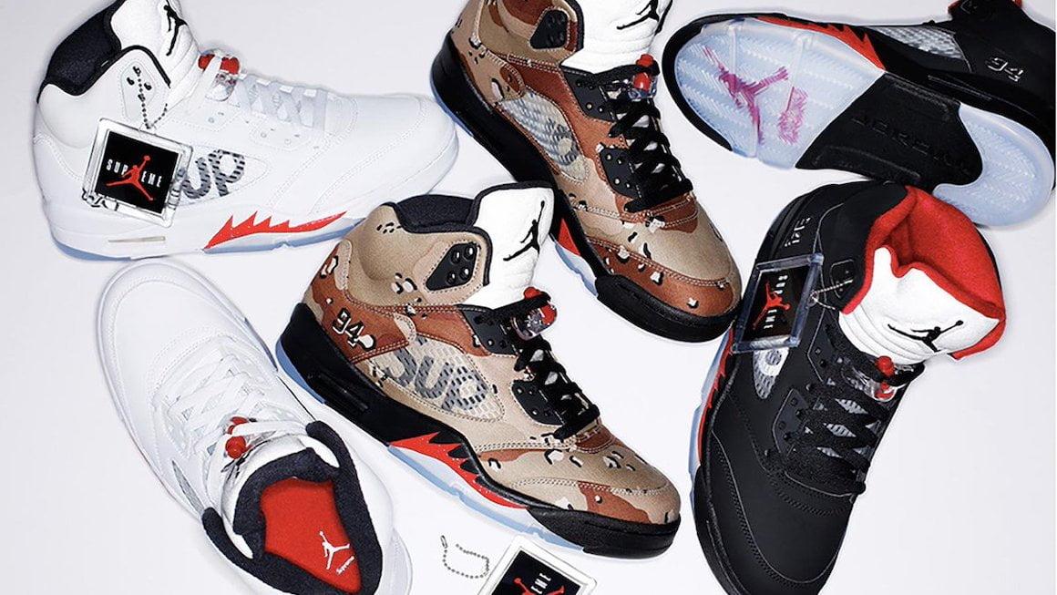 Supreme x Nike Collaborations