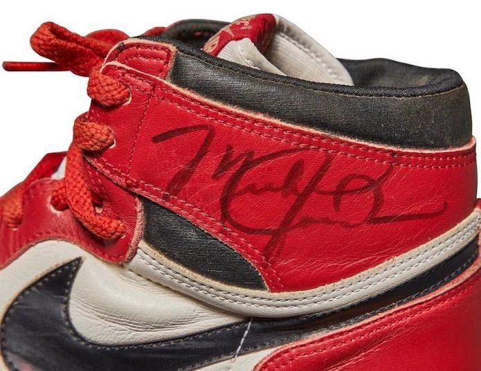 Michael Jordan's Game-Worn Autographed