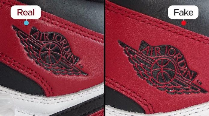 to Spot a Fake Air Jordan 1 \
