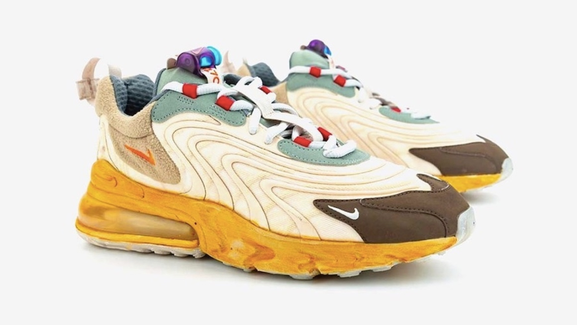 Soltero Cabeza torneo  Travis Scott's Nike Air Max 270 Drops This Month - KLEKT Blog