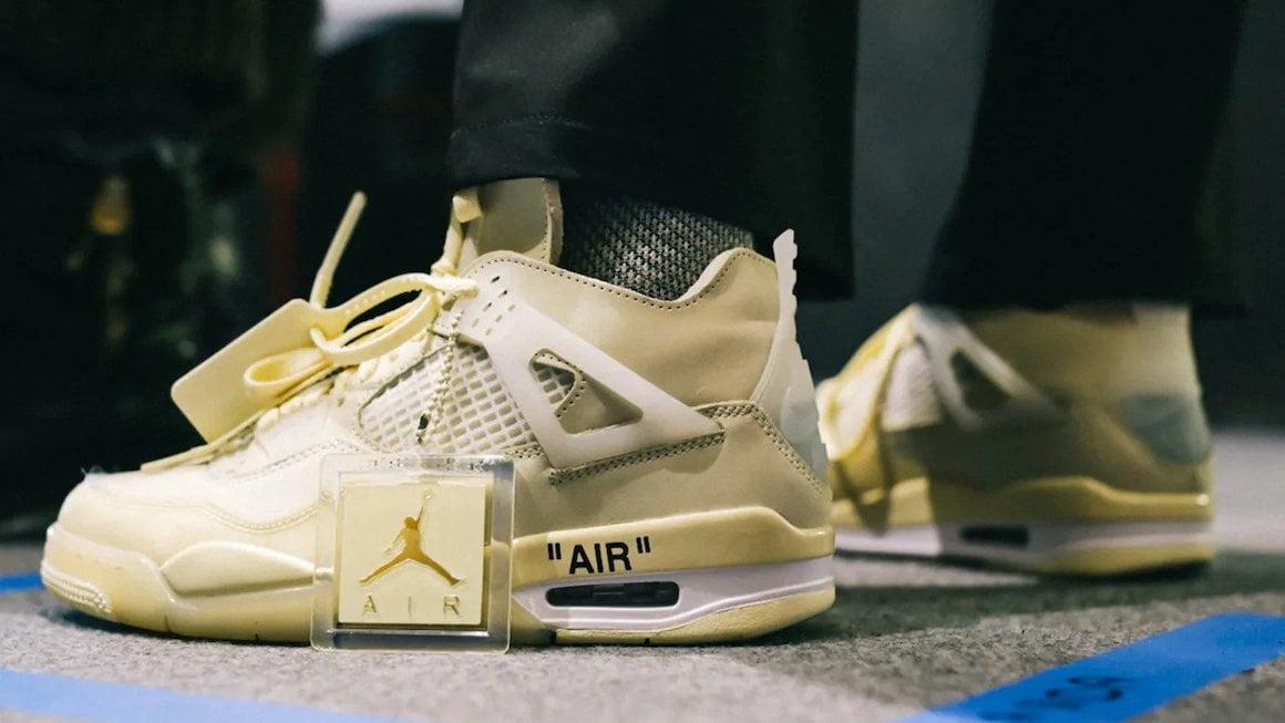 The Off-White™ x Air Jordan 4 Gets a