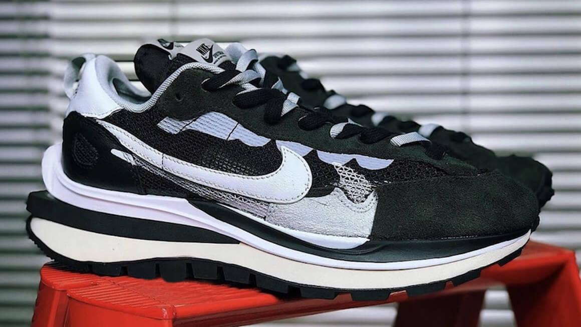 The sacai x Nike Vaporwaffle Appears In