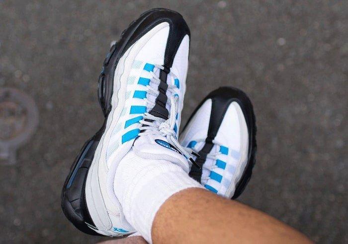 photo blue air max 95
