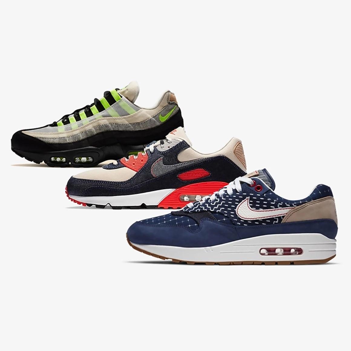 Admisión Gracias Fugaz  DENHAM Will Release Its Nike Air Max Collaborations Next Month - KLEKT Blog