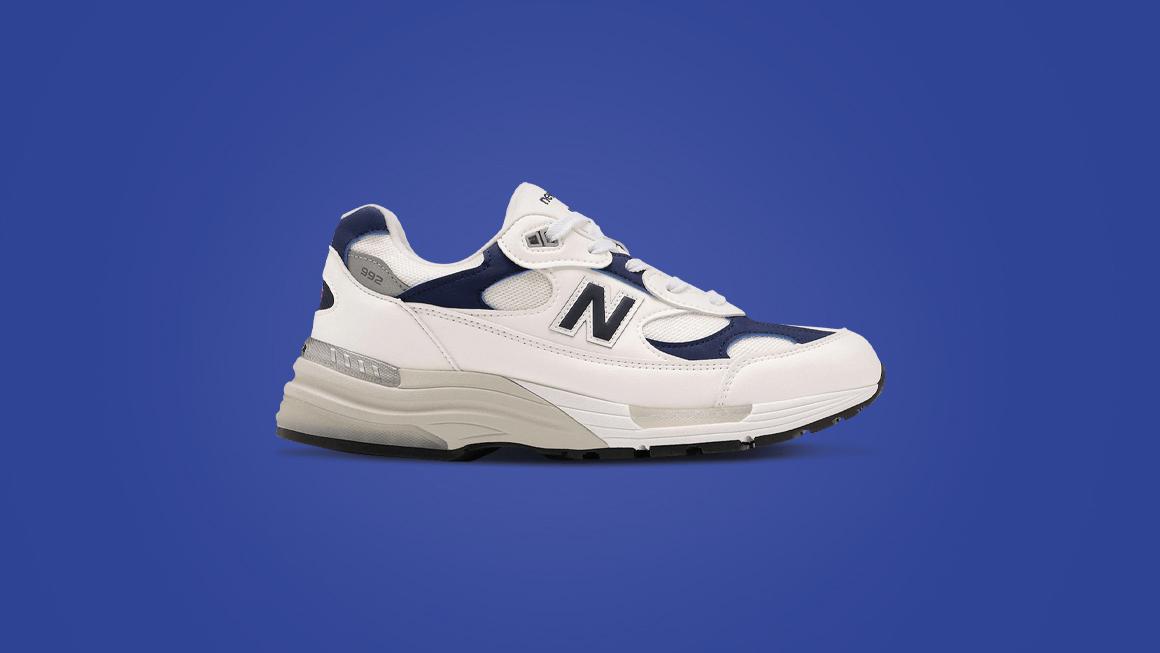White/Navy\