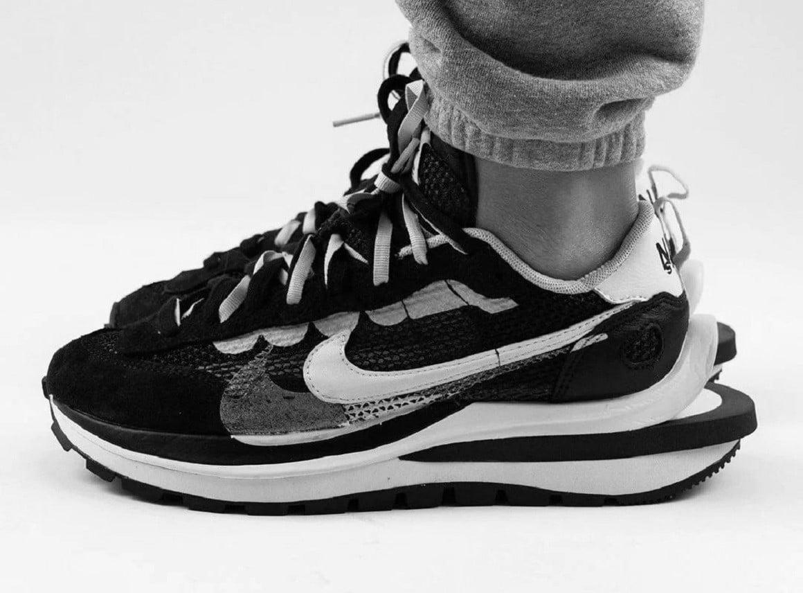 New sacai x Nike Vaporwaffle Colourways