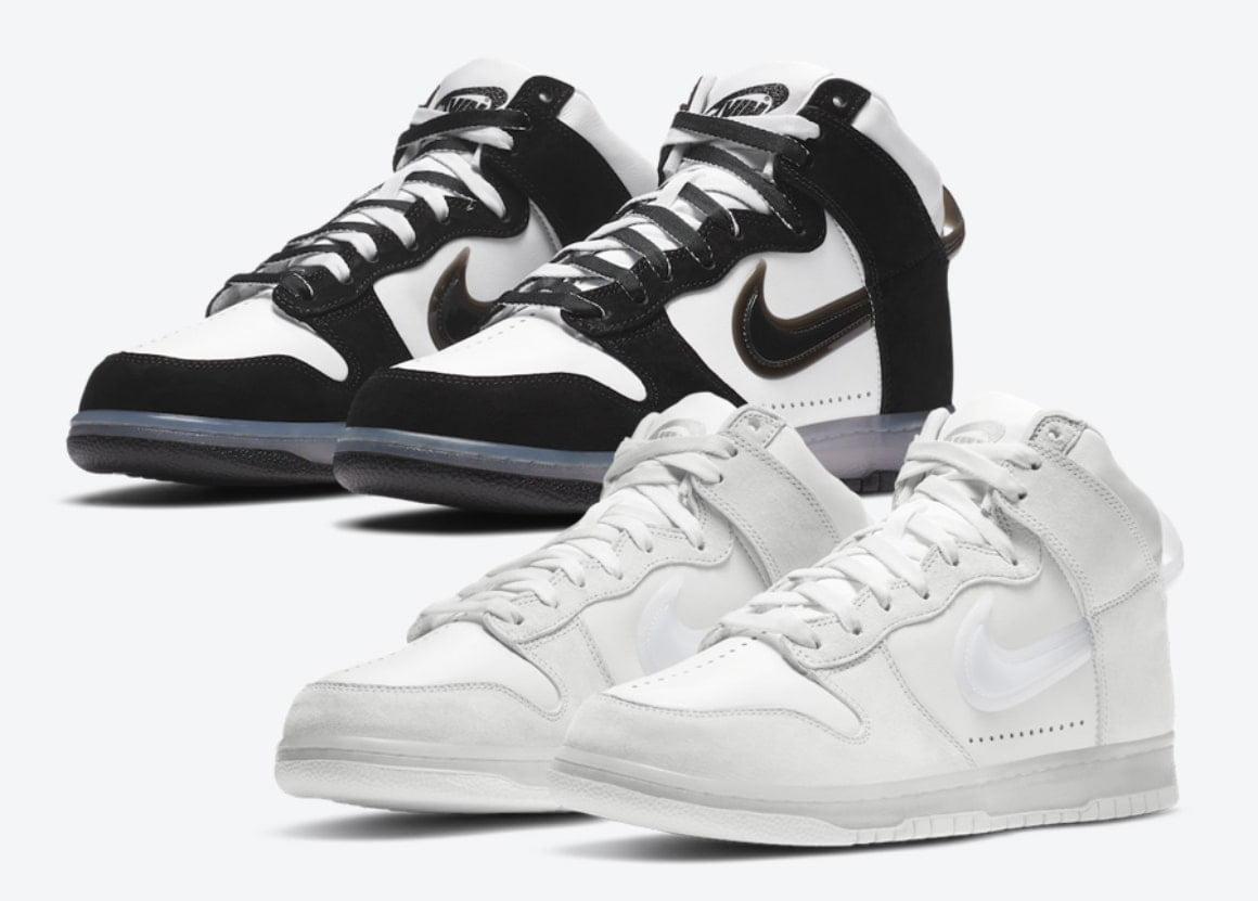 Slam Jam Reveals Two Nike Dunk Highs