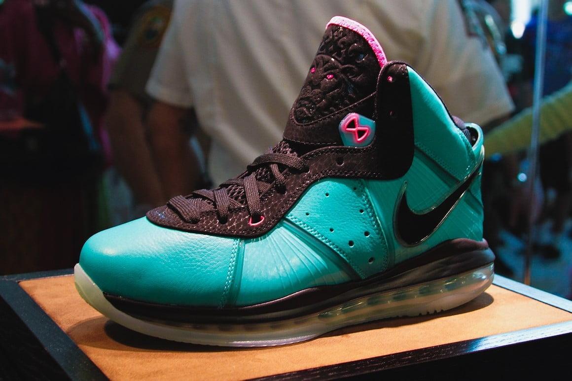 The Nike LeBron 8 QS \